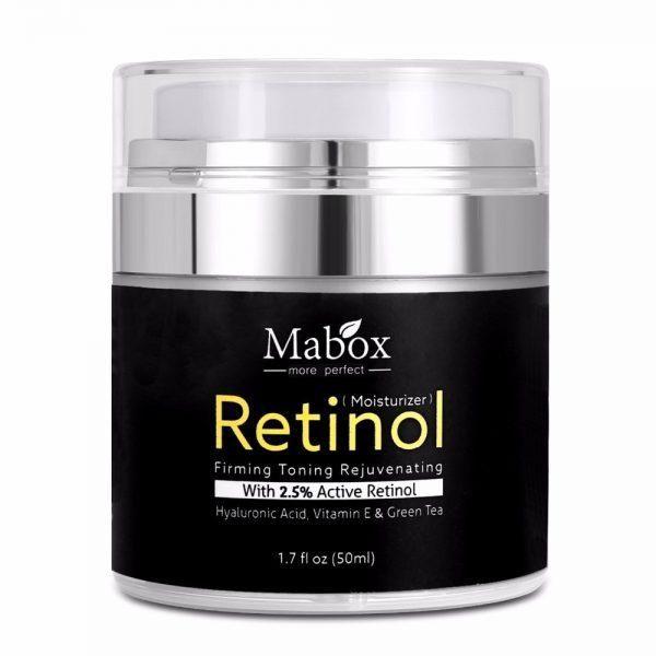 Mabox 50 ml Retinol 2.5% crema antiedad de ácido hialurónico POR 17,61€!!! #estilo #moda #fashion #modamujer #tendencias2020 #look #anillos #lenceria #belleza #guapa #bolsos #diseño #bisuteria #tacones #complementos #estetica CÓMPRALO AQUÍ👉