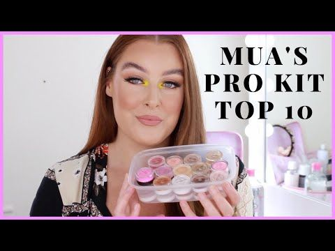 A makeup artists top 10 products!  #makeup #beautyproducts #beauty #makeupartist #mua #youtubemakeup #makeupblogger