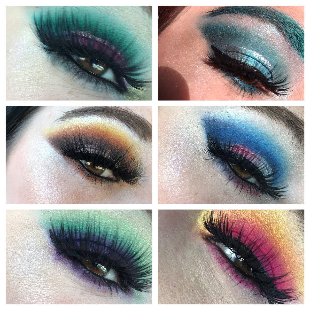 This weeks looks! #makeup #JeffreeStarApproved #JeffreeStarCosmetics #lashes #tattilashes