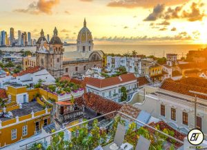 La ciudad joya de la corona de la colonia española. Famosa por tener su propia ciudad amurallada, construida en tiempos de la colonia para protegerse de piratas enemigos  #tour #colombia #travel #viajes #nature #trip #bogota #turismo #medellin