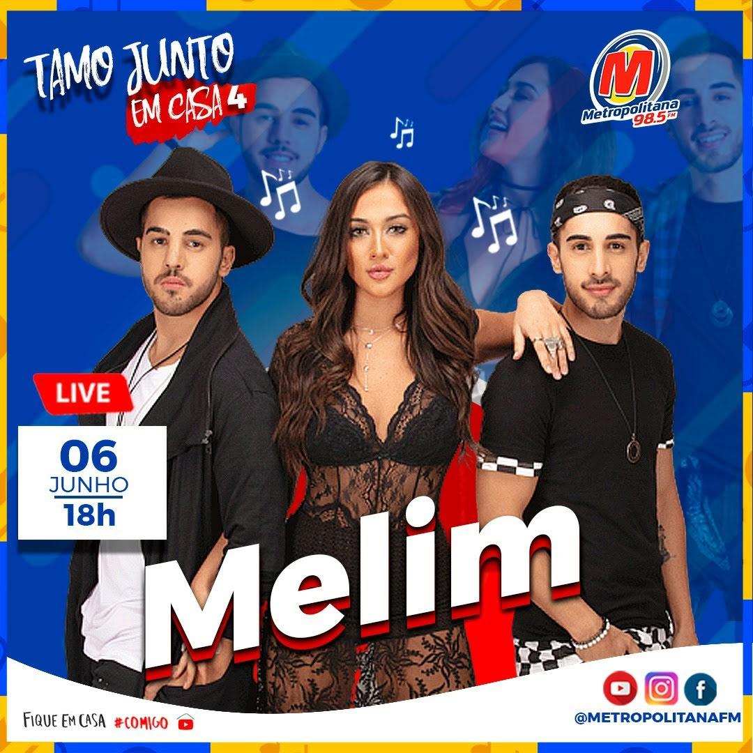 É #LIVE que vocês querem? Tá chegando o FESTIVAL TAMO JUNTO 4!!!! 👏🏻🎉 . DIA 06/06,  vai rolar o #FestivalTamoJunto4 no nosso canal do #Youtube, #Instagram e #Facebook  . A partir das 18h você vai curtir com Melim e muito mais!!! . FESTIVAL TAMO JUNTO 4!!! YEEES💙