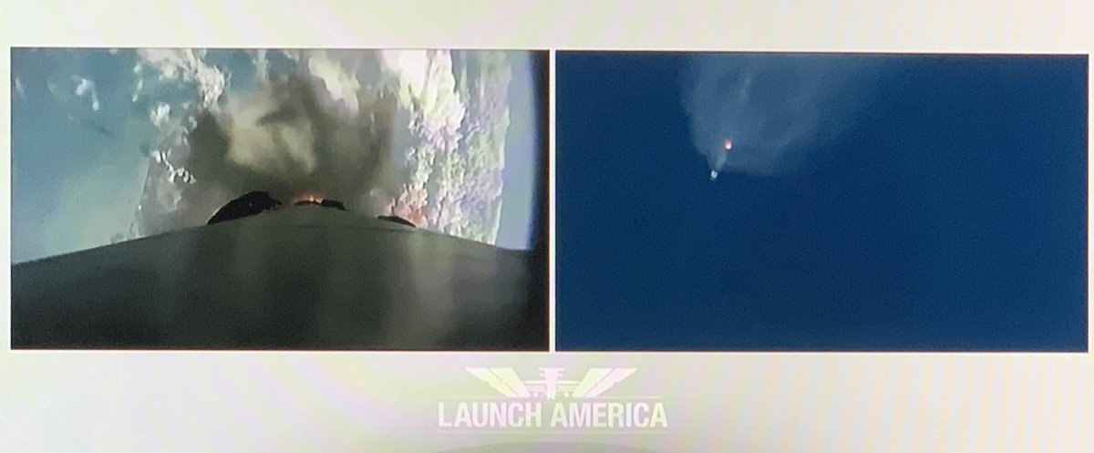 So awesome! #LaunchAmerica