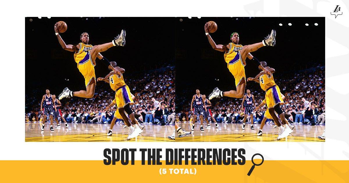 RT @Lakers:  *** 🤔🔎 #LakeShow https://t.co/JaeTEae4lI #LosAngeles #LosAngelesLakers #Lakers #LeBronJames #StriveForGreatness #NBA #NBAAllStar #TeamLeBron https://t.co/gQIxVufEPU