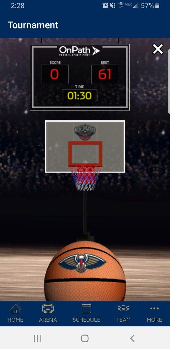 @PelicansNBA  #ShotClockChallenge  Best I can do... https://t.co/v9FwkwWC3e