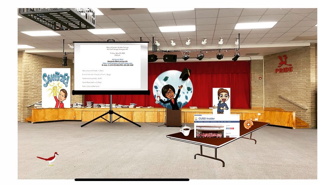 #bitmojiadmin for Marco's 2019-2020 Staff Recognition Presentation. #bitmojis #edtech #distancelearning #googlehangouts  #cusdinsider #celebrationspic.twitter.com/lhdOu0UDt8