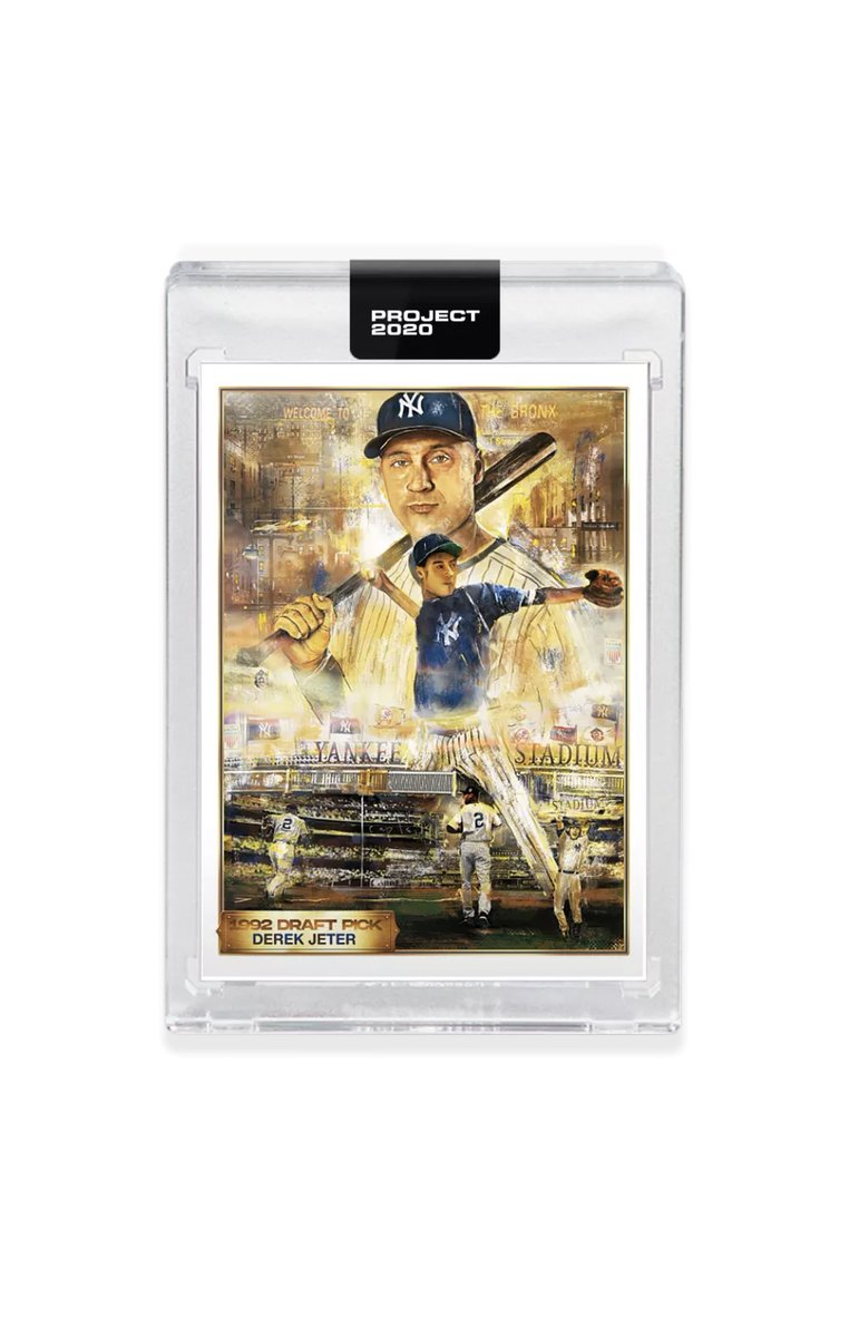 🚨 Enter and win! 🚨 FREE!!! With all the unrest in our world I want to do something nice. So, anyone who likes and RT this will be entered to win the Topps Project 2020 # 82 - 1993 Derek Jeter by Andrew Thiele! Contest ends 6/1 at 11 pm CST! Good luck! #TheHobby #DoWhatsRight https://t.co/q4GkDgZz6Y