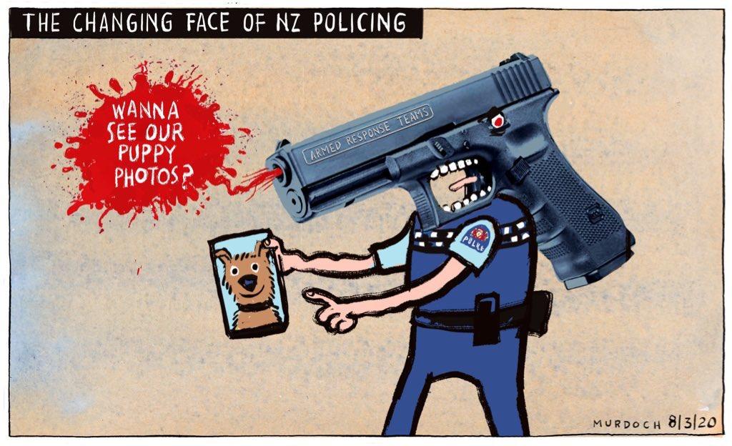 Put your #ArmsDownNZ.  A #cartoon from a couple of months ago. @NZStuff @dompostpic.twitter.com/jMg05MNN8H