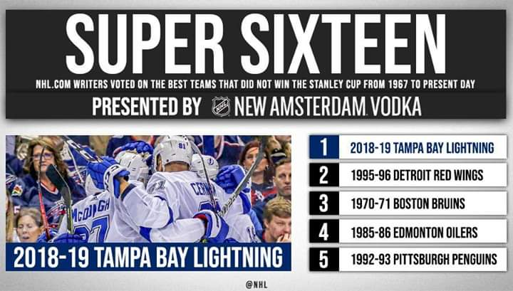 Are the 2018-19 Tampa Bay Lightning the best team not to win the #StanleyCup in the expansion era? 🤔 I say yes👍👍👍👍👍👍👍👍👍👍👍👍👍👍👍👍👍👍👍👍👍👍👍👍👍👍👍👍👍👍👍👍👍👍👍👍👍👍👍👍👍👍👍👍👍👍👍👍👍👍👍👍👍👍  https://t.co/324hS72JIb debates ➡️ https://t.co/HXSbEFkb72 https://t.co/pTK65WF6fo