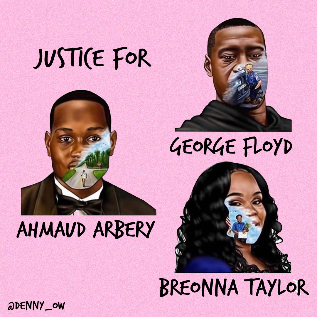 It is deeply saddening to see recent events that have occurred and that these horrific situations continue to happen. It has to STOP. We stand by the families of George Floyd, Breonna Taylor, Ahmaud Arbery and the black community at this very difficult time.