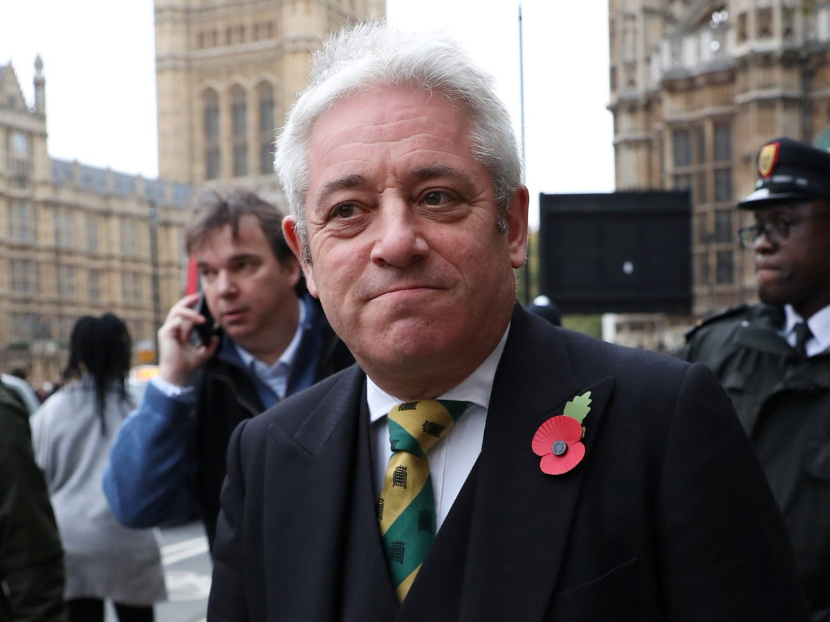 EXC: John Bercow and Karie Murphy will not get their peerages, the Cabinet Office has told Jeremy Corbyn Both involved in investigations into alleged wrongdoing: unless theyre concluded before PM refers names to the Queen, they wont pass propriety test 1/3