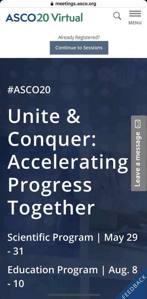 #ASCO20 A diverse program. A multidisciplinary perspective. A wealth of new research. The opportunities for discovery are limitless. Виртуальное участие на Конгрессе не привычно, но очень удобно, где-то продуктивнее даже! #OncoAlert #niioncologii #niioncologiipetrova #RUSSCO