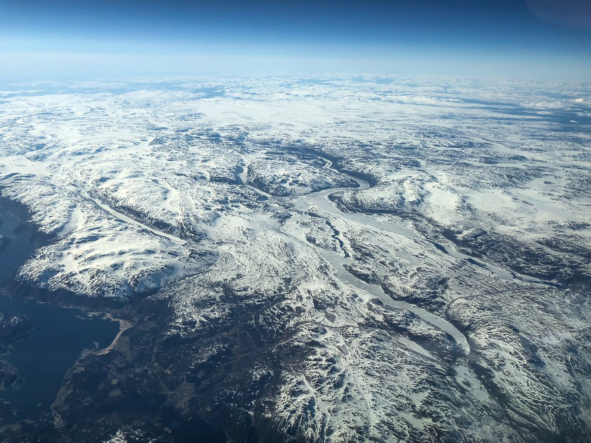 Some of the views over #Norway earlier today  #aviation #oslo #osloairportpic.twitter.com/iyTWPFL97s