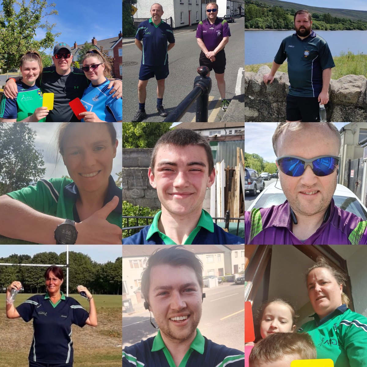 Hats off to the men and women who took part in today's 5k event #RefsOnTheRun + a big thank you to everyone who donated Current tally stands at €4767.00 🙌🏻 Link for further donations will remain open until Mon June 1st LINK to Go Fund page ⬇️ gofundme.com/f/dublin-lgfa-…?