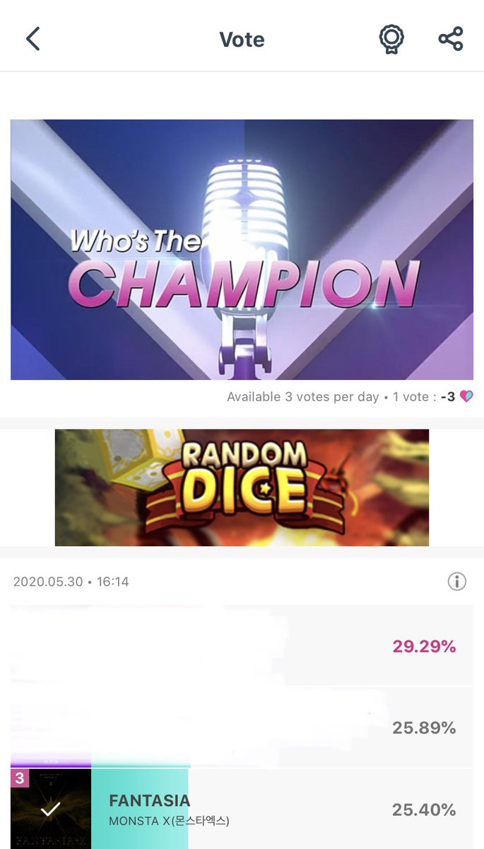 We're so so close to second place on Idol Champion! Monbebes & everyone else helping out, thank you so so much 😭🙏 DEADLINE 5/31 11:59PM!! 18 hours left. LET'S DO THIS @OfficialMonstaX #MONSTAX #몬스타엑스