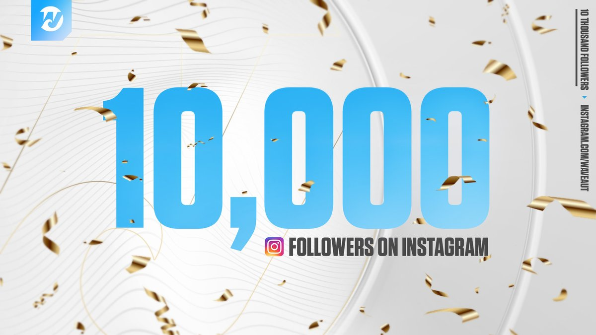 We are very proud of reaching our 10k milestone on our Instagram  Thank you so much for all the support you have given us over the past year!  If you dont follow yet, check it out now!  @WaveAUT on Instagram#wavecheck #wavefampic.twitter.com/bs8bRWtPWl