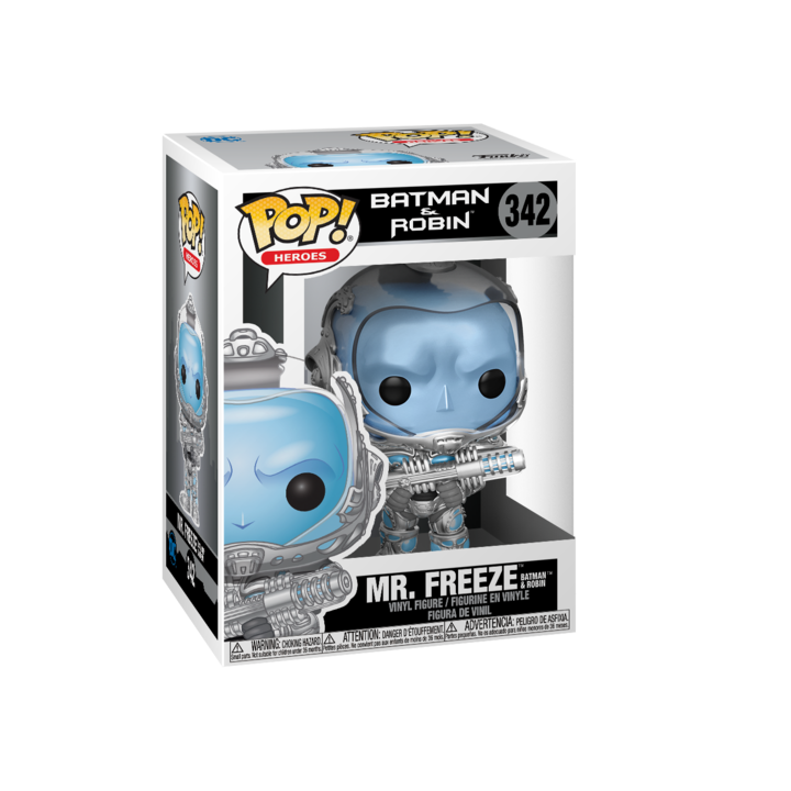 RT & follow @OriginalFunko for the chance to win a Mr. Freeze Pop! bit.ly/3dpesfG
