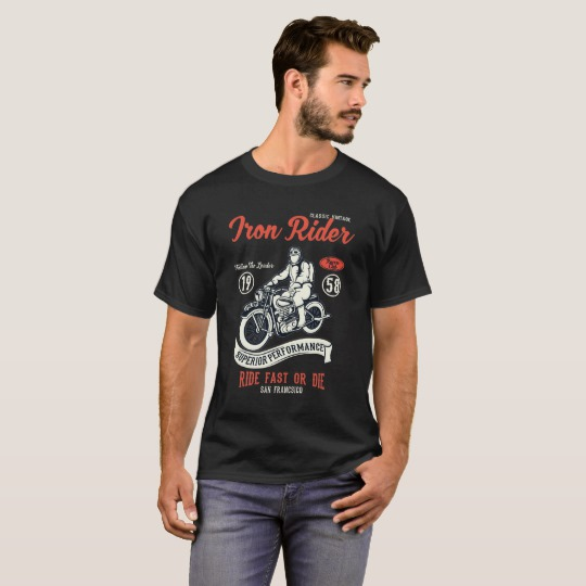 IRON RIDER T-Shirts < > Order @ http://zazzle.com/z/oo321?rf=238103922746182829… < > #classic #motorbike < > More designs @ http://shop.feralgeardesigns.compic.twitter.com/zcTrt669FT