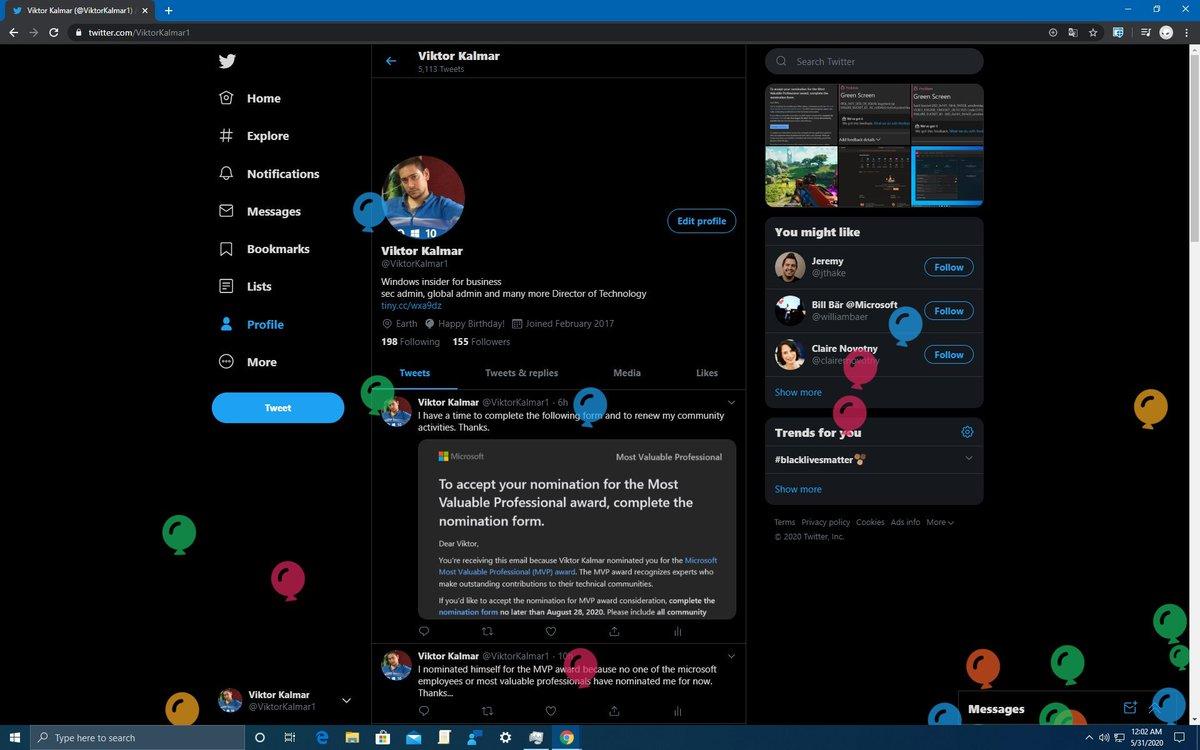 RT @ViktorKalmar1: Twitter from all aspects https://t.co/a0YJxlDZbY