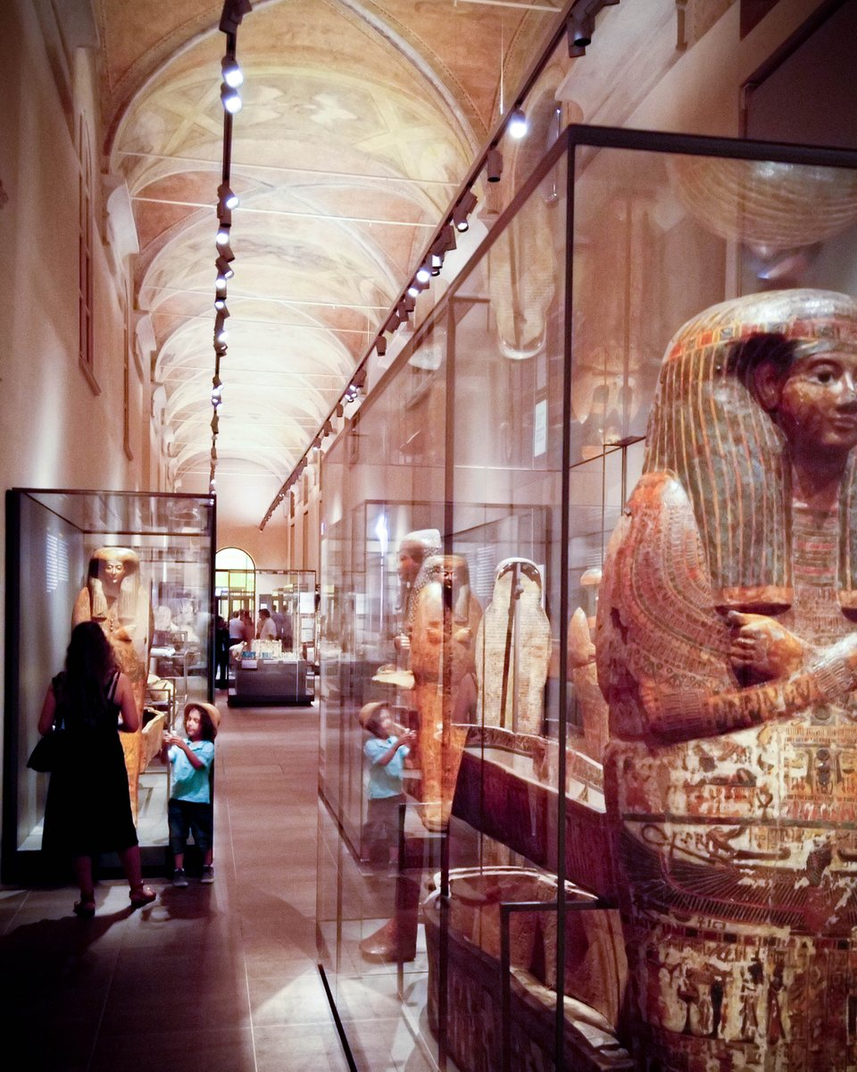 The Egyptian Museum in Torino is said to be one of the most elaborate museum of Egyptian artifacts in the world.  http://www.carryonwithkids.com   #takethekids #carryonwithkids #familytravel #traveldad #familyvacation #familytravels #mummies #museum #torino #visititaly #worldschoolpic.twitter.com/XOlgacyBYM