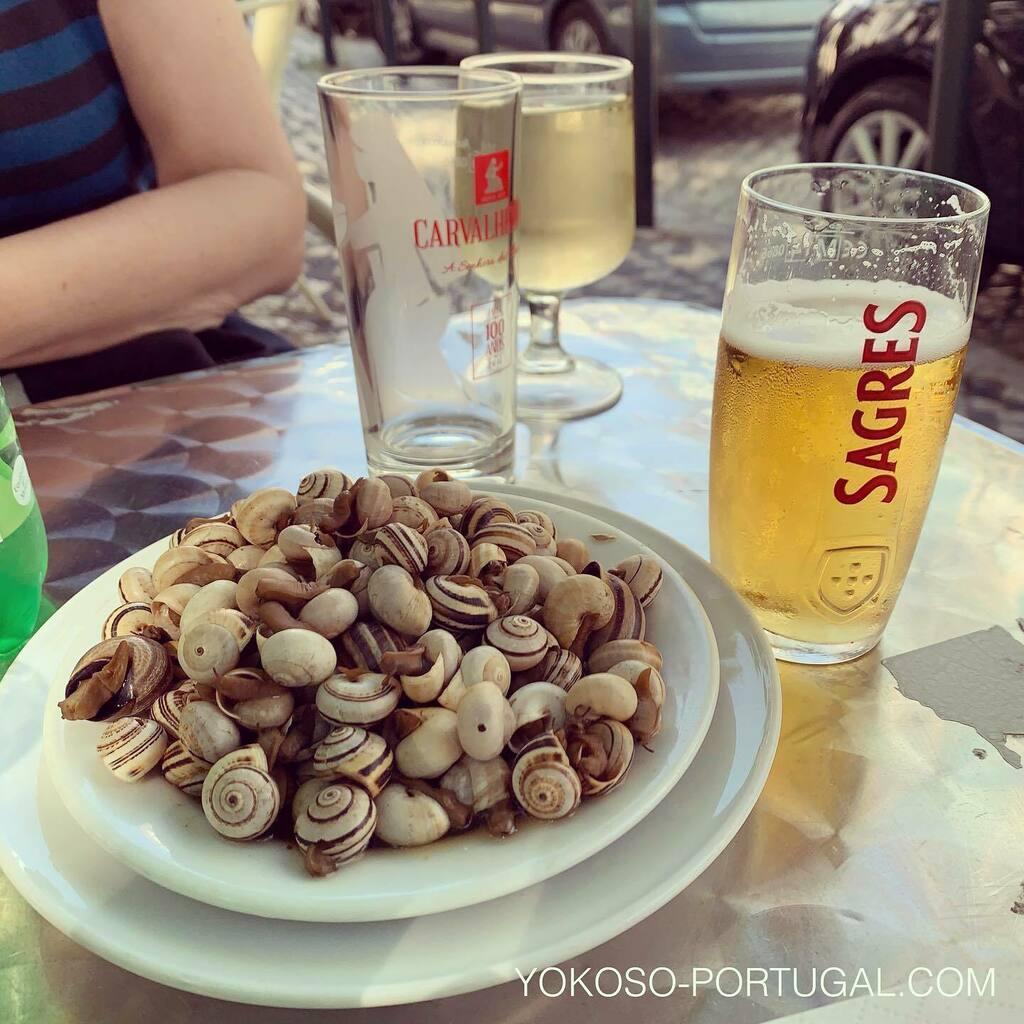 test ツイッターメディア - ポルトガルでは小さなカタツムリがシーズンです。ビールのお供にもってこいです。 #ポルトガル料理 https://t.co/7MX91OPlXt