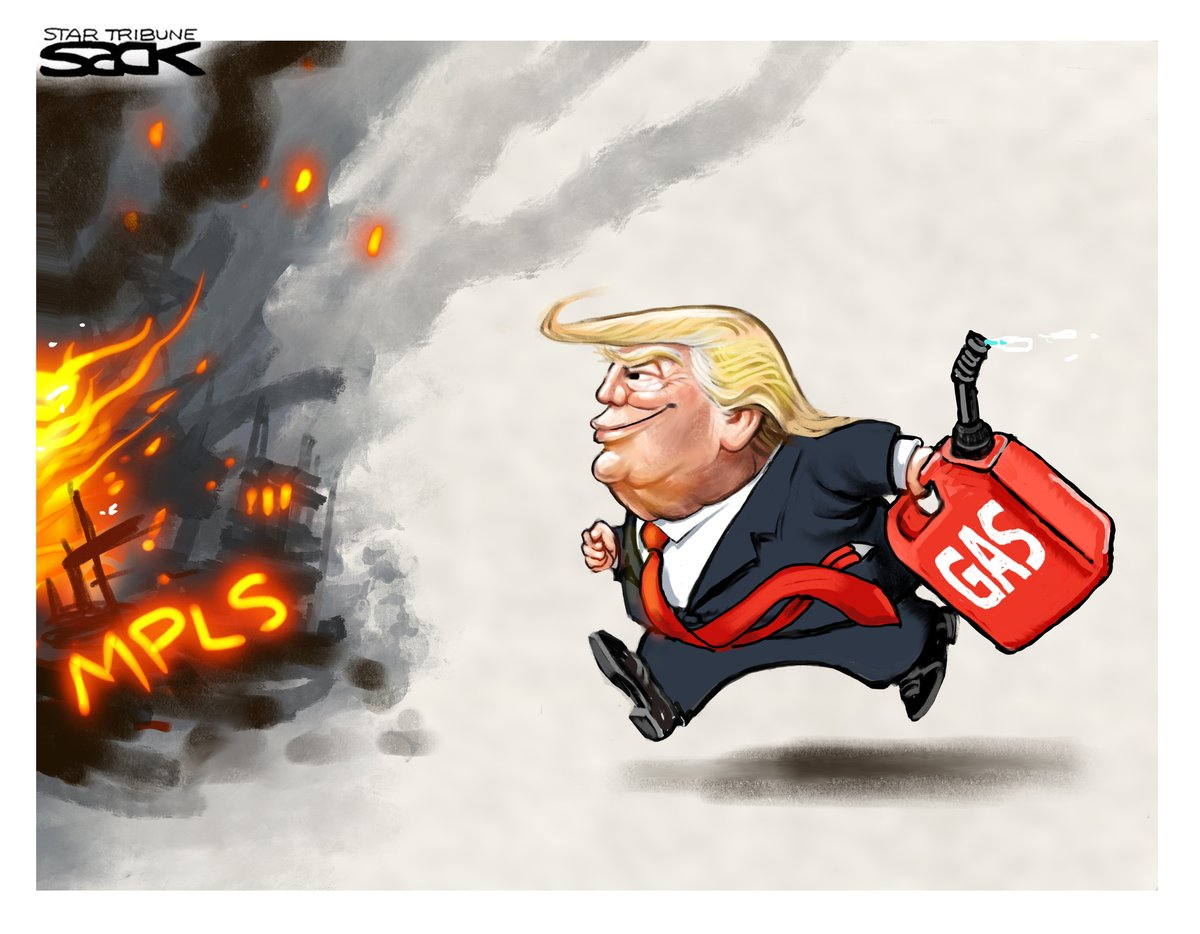 Cartoon of the Day - Donald Brings Gas To The Fire via @ThatSteveSack   @allanjohnsonmn1 @islivingston @allenroberthill @IsaiahAProphet @Alanlsg @AlexUSA1956 @JanineBliss @White5Anthronet @erichards24 @SheripetersonS @RonHall46 @RonaldTooTall @RachelAzzara @david_hemond https://t.co/QuZVnPDjfi