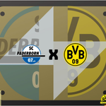 Image for the Tweet beginning: Amanhã tem @BVB!  SC Paderborn vs