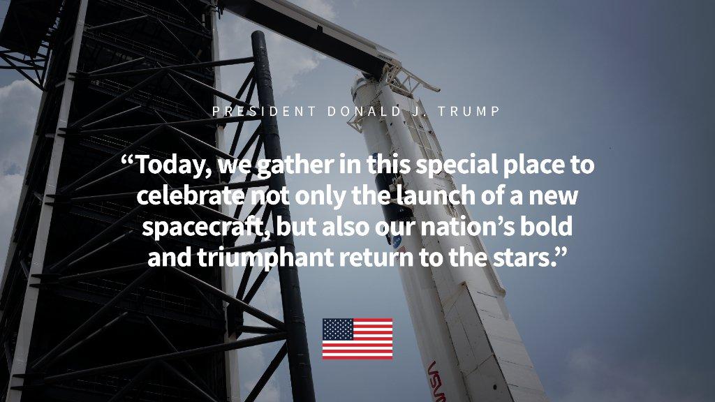 The White House (@WhiteHouse) on Twitter photo 30/05/2020 22:17:49
