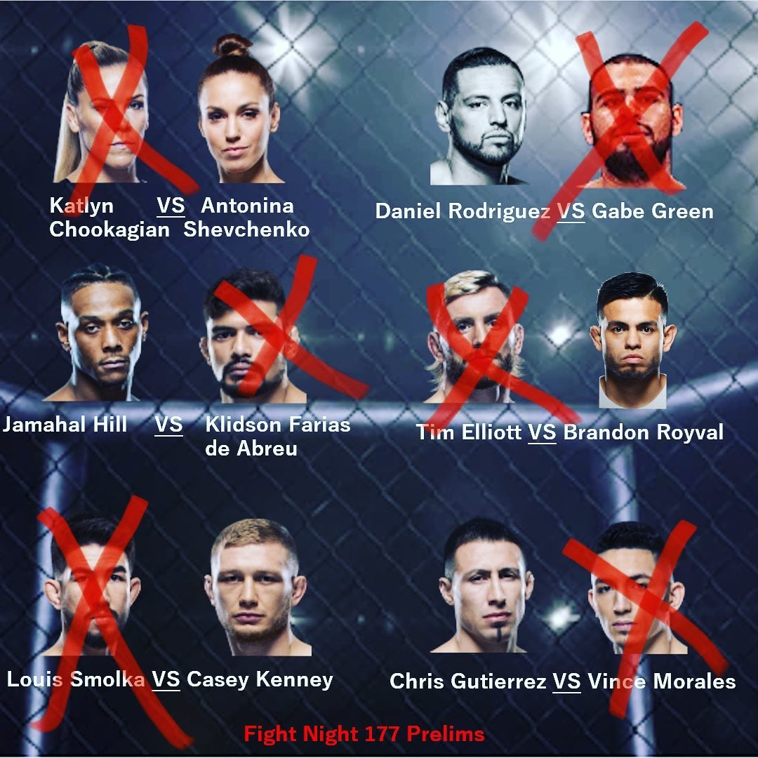 Our picks for Fight Night 177 prelims. Let us know who you picked! #UFCVegas #UFC #MMA #PickEM https://t.co/7vZv7MTXnl