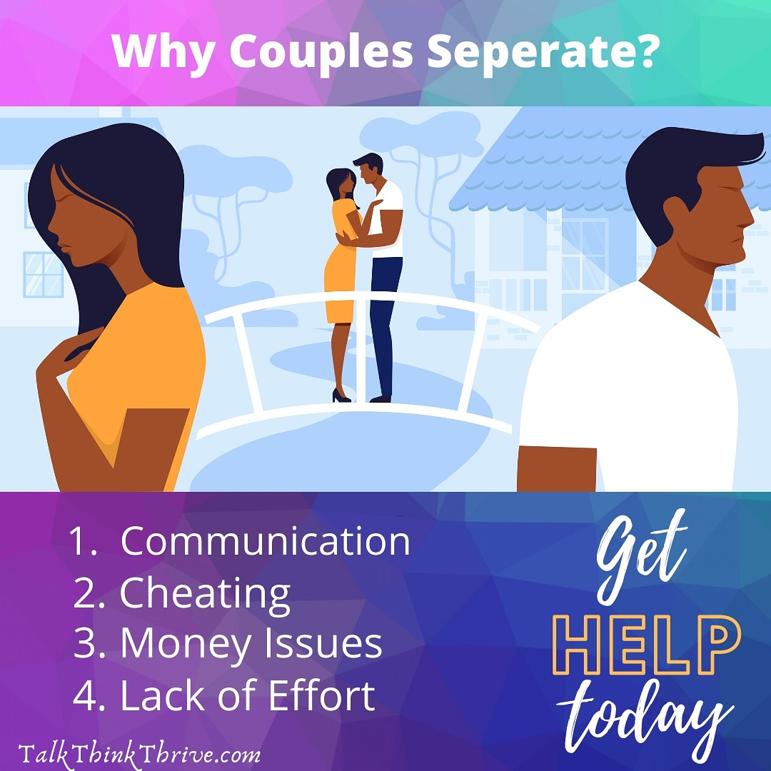 Reasons Couples Seperate • • •  • #hopelessromantic #hurting #sleeplessnights #heartache #separated #heartbreaking #emptiness #seperated #lostlove #seperation #betrayal #breakup #brokenrelationships #relationships #breakupquotes #breakups #thebreakup #breakuptomakeup