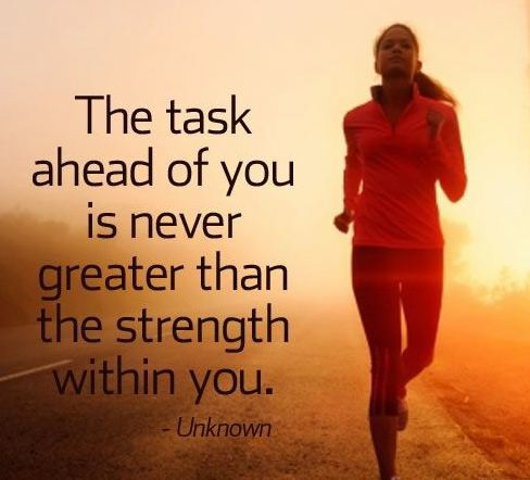 The task ahead of you is never greater than the strength within you. #SuccessTrain #thriveTogether #thinkbigsundaywithmarsha https://t.co/V0dQWkqds0