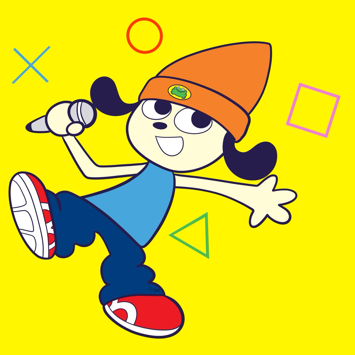 "=PaRappa The Rapper=  ""I gotta believe!!""  I had to. A PaRappa fan shouldn't stay quiet #fanart #PlayStation #PaRappaTheRapperpic.twitter.com/J2sIYnRInD"