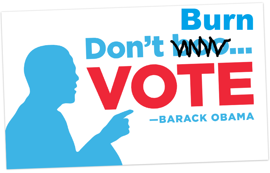 I am planning to participate in a very important protest. It starts on November 3rd. I will vote a straight blue ticket. I will do this for every election, for every office. I hope you will join me. #DontBurnVote #VoteEveryElectionStraightBlue #WorkGiveVoteBlue #Resist