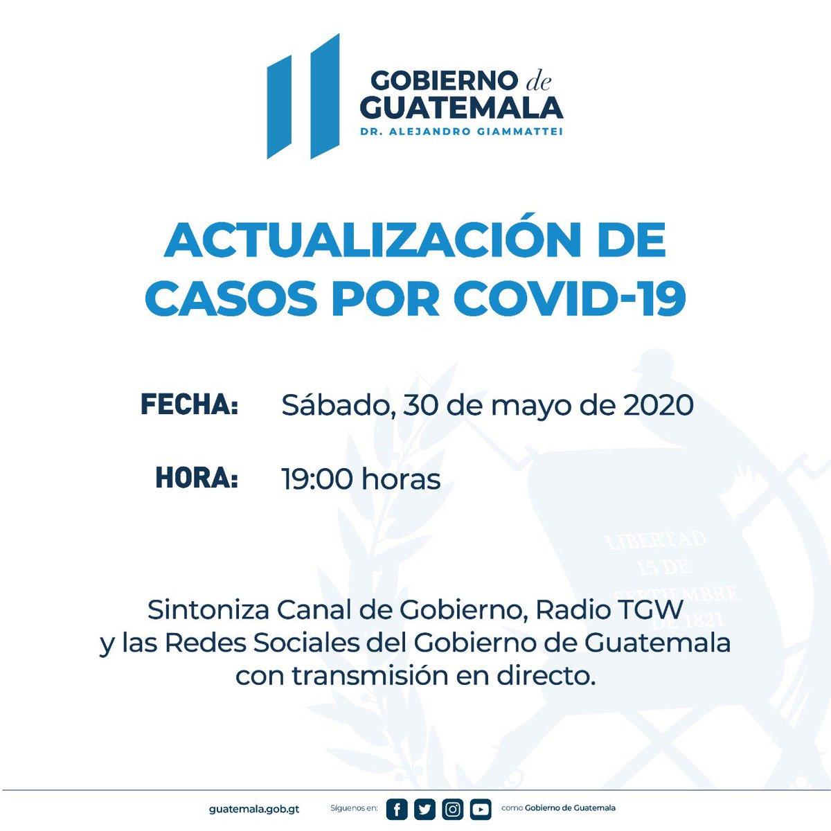 test Twitter Media - Gobierno anuncia actualización de casos por COVID-19 a las 19:00 horas https://t.co/pRFuy37MXY