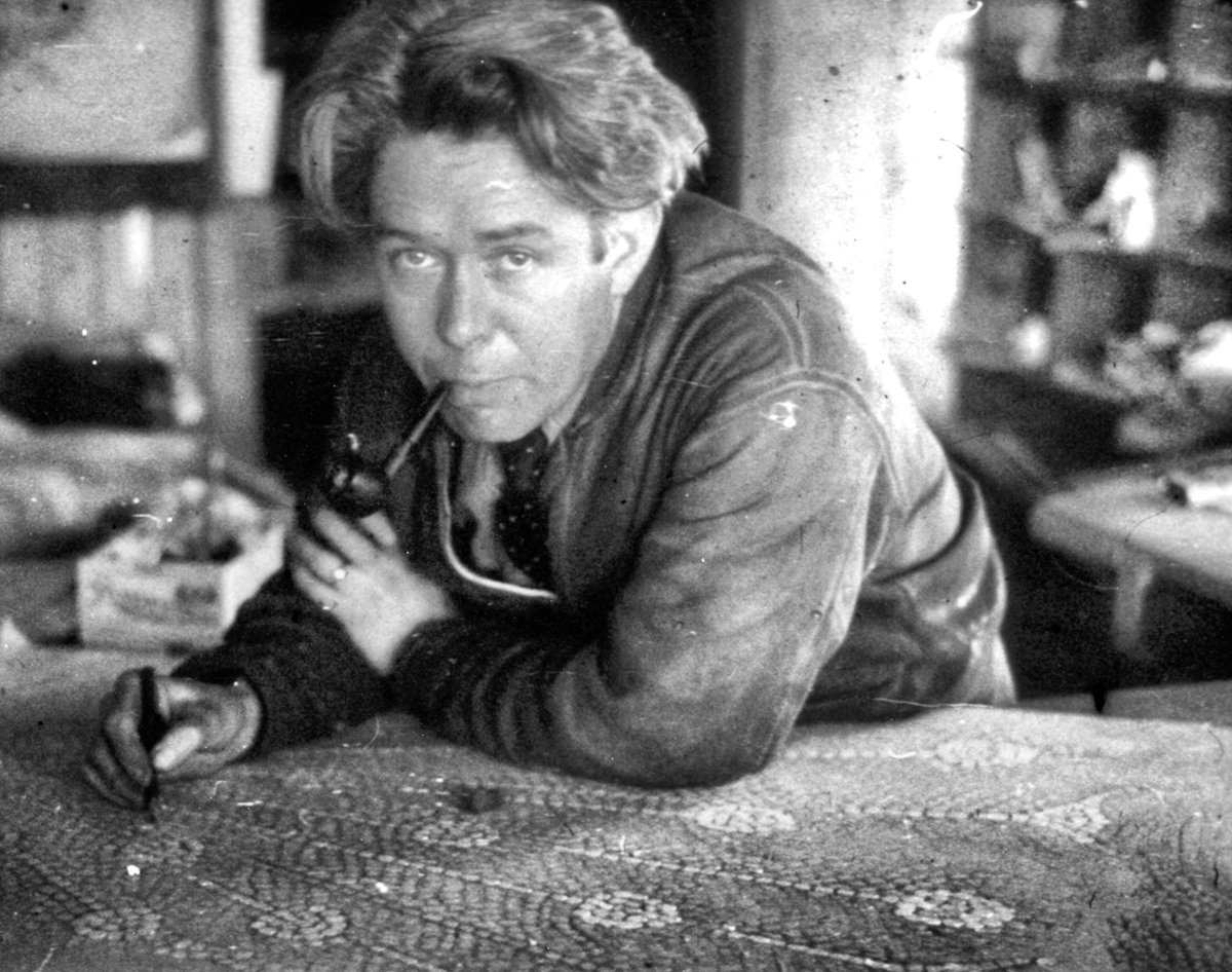 Happy #NationalCreativityDay! What creative projects have you been working on recently? One of the most creative people associated with the decoration of Glencairn is Winfred Hyatt (1891-1959). #MuseumFromHome #VisitFromHomepic.twitter.com/yez3RxFXr0
