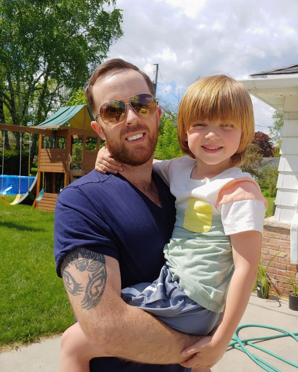 My dawg ✊  #DaddyGang #DadSonTime #fatherhood #lifeofdad #son #bigtruss #dad @thedad #parenting https://t.co/y5d9Cv8hKG