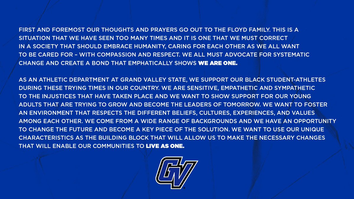 We are one. We are GV. https://t.co/9i897HPYnI