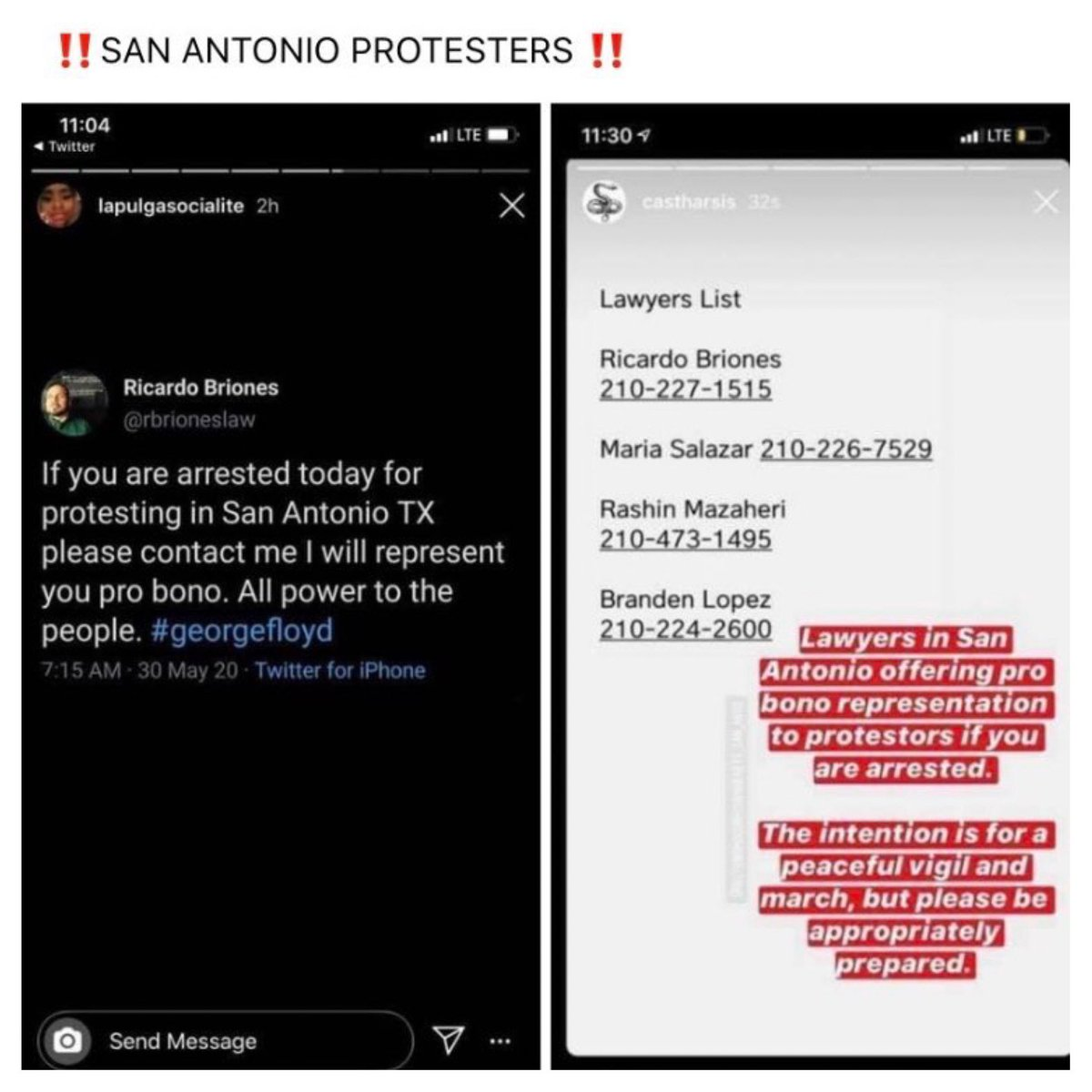 More pro bono action. San Antonio, Chicago, Columbia (SC), & more Bay Area