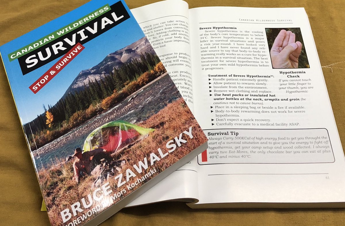 Heading back to the wilderness this Summer, then Order a copy of Canadian Wilderness Survival, available @campersvillage @McNallySK   or  #survival #bushcraft #outdoorlearning #outdoors