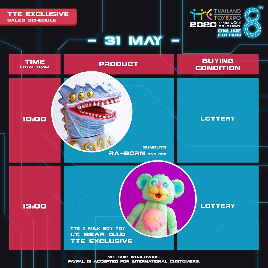 Meet SUNGUTS at #TTEOnlineEdition, the biggest online toy exhibition From 28 - 31 May https://t.co/h9fbhnFidp #TTE #ThailandToyExpo #TTE2020 #Stayathome #Newexperience https://t.co/Pf48hwF1jR