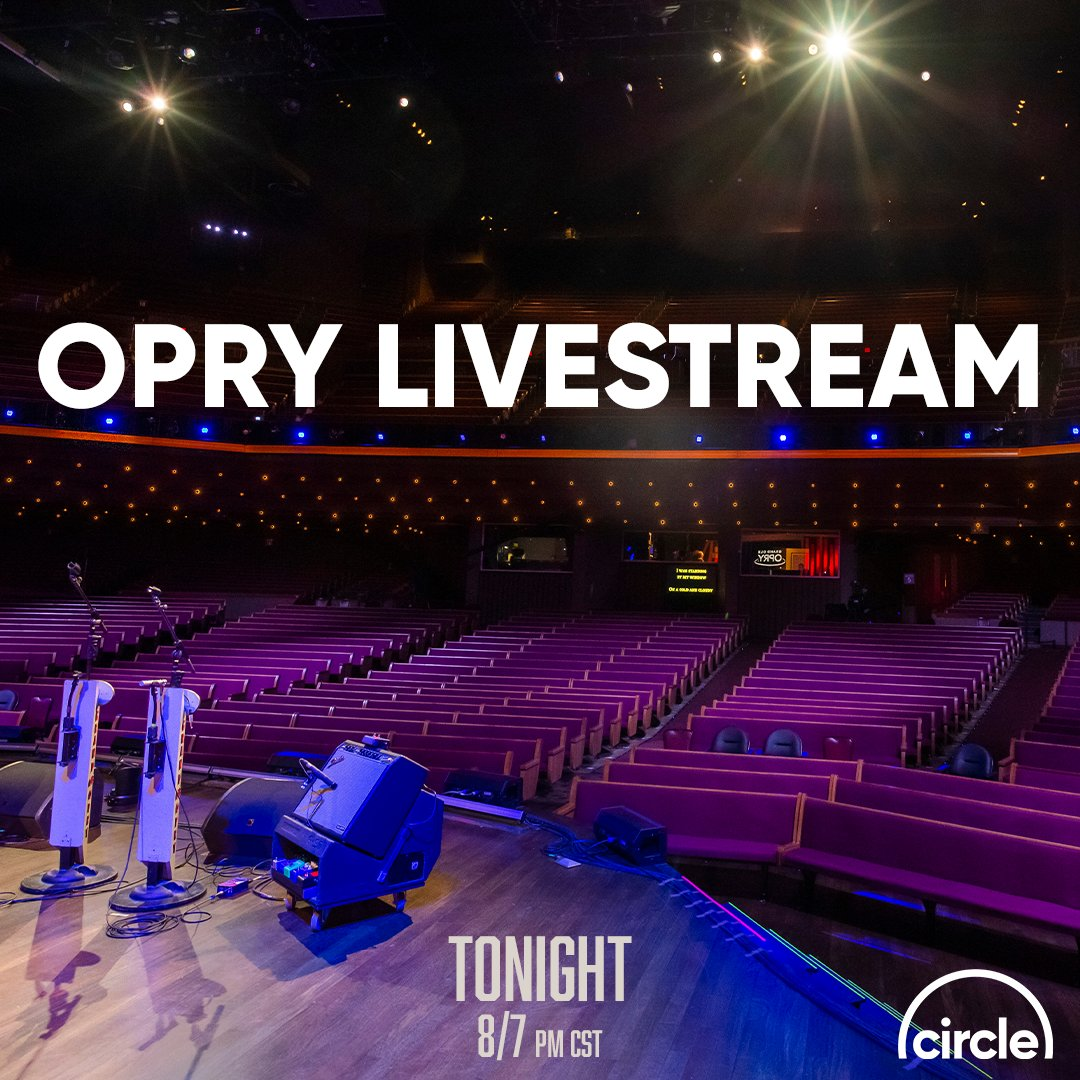 HERE WE GO YALL!! Only 30 minutes until the Opry Live Show! 🙌 Let your family & friends know!! Go to our Facebook or YouTube page to join the chat and watch online! @opry @mrbobbybones @janson_chris @brettyoungmusic @chrisyoungmusic #circleallaccess