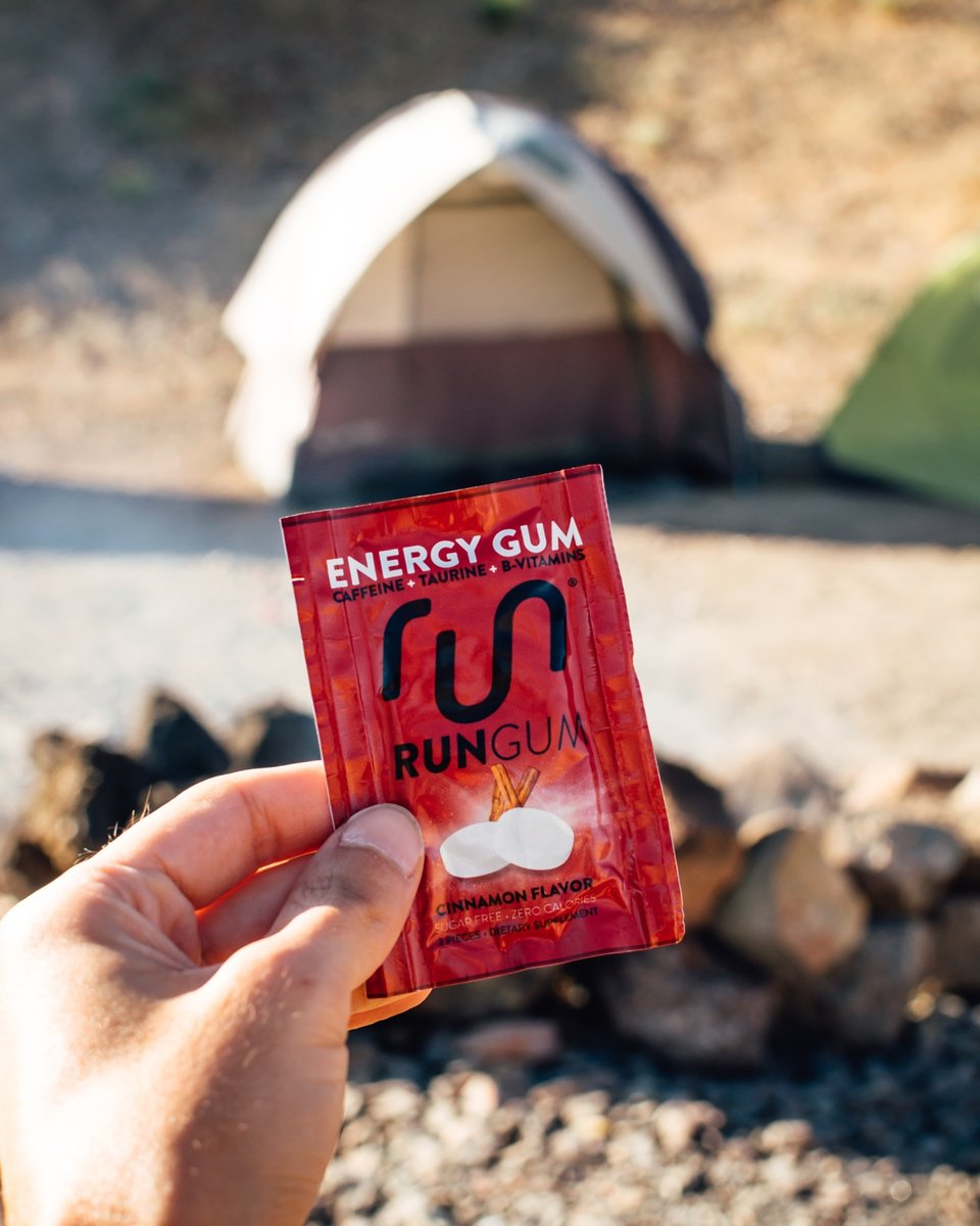 Kickstart your day, wherever you're starting it 🏕️🏠⠀ ⠀ How do you kickstart your day? ⬇️⠀ ⠀ #rungum #runtheday #adventure #weekender #runsquad⠀ https://t.co/tbUOWVGMIp