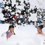 Image for the Tweet beginning: 5月30日,湖南株洲舉行泡泡跑,迎接即將到來的兒童節。