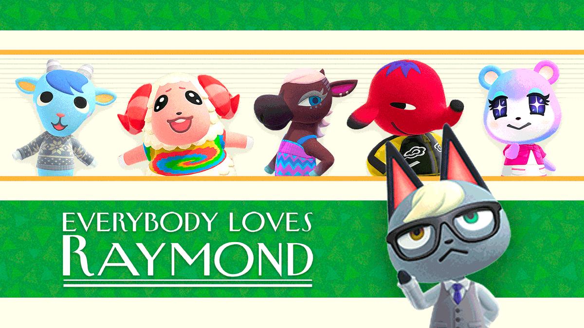 Everybody Loves Raymond #AnimalCrossing #ACNH