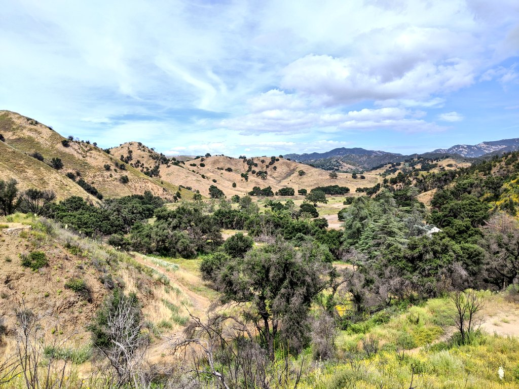 Glorious day for a hike in the #SantaMonica Mountains