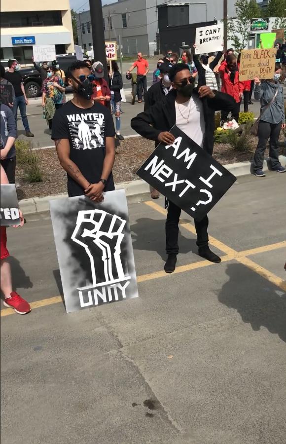 Anchorage, Alaska #protests ❤️ 📸: Not Me, Us - Alaska