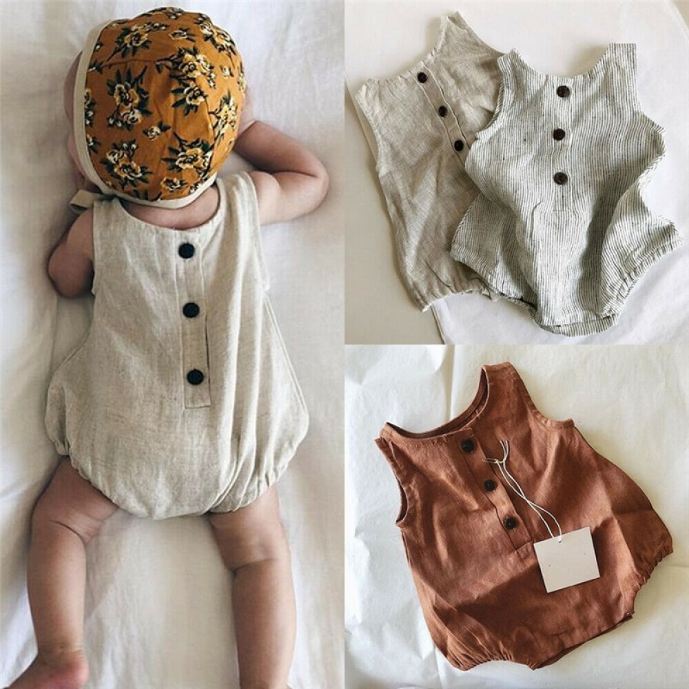 #babyclothes Cotton and Linen Sleeveless Button Unisex Bodysuit http://bohobabywear.com/product/cotton-and-linen-sleeveless-button-unisex-bodysuit/…pic.twitter.com/LdVziEZHLZ