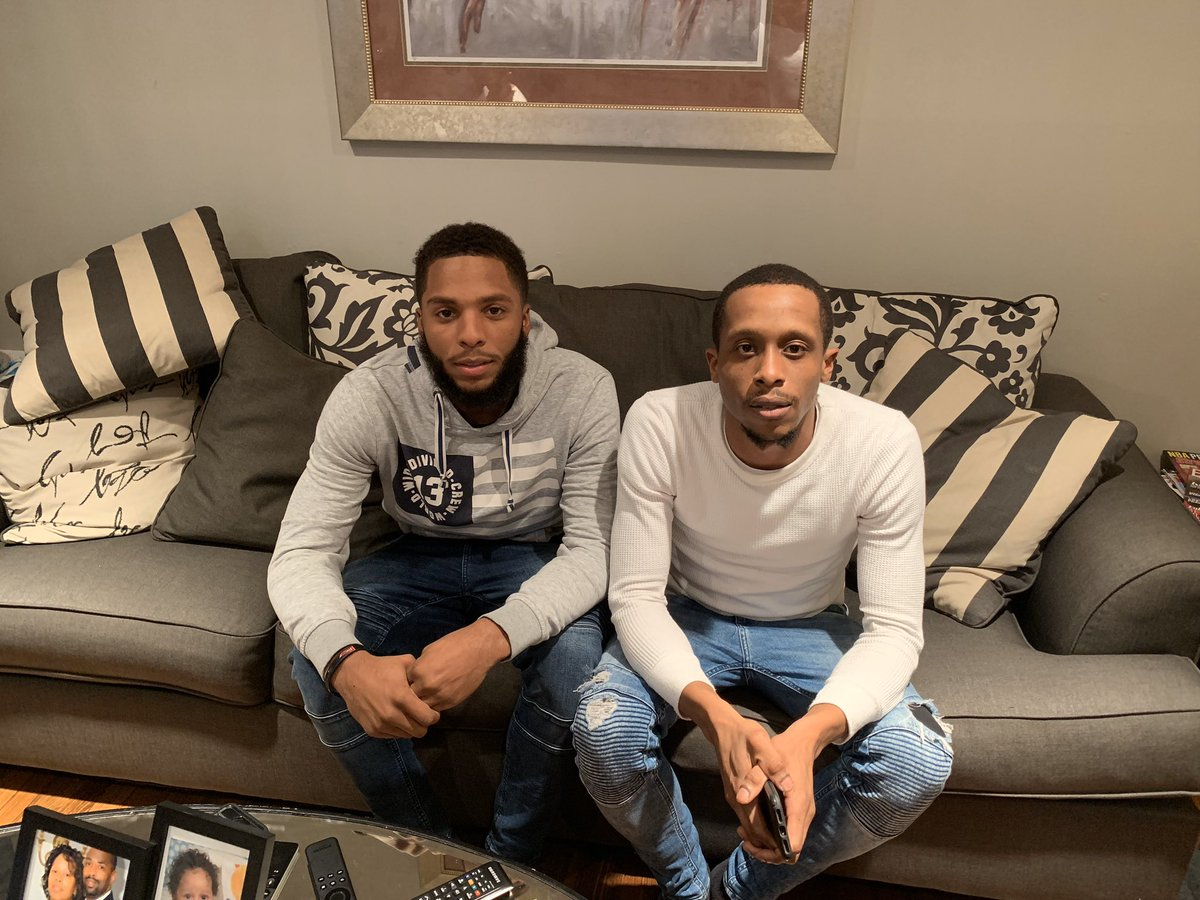I am the mother of two black young men and I fear for them daily because I don't know if they will make it home, not because of their wrongdoing but due to the color of their skin. My black sons matter, blacks matter🗣 I love these two❤️ @rjuice_ https://t.co/8Mxm5Jg07B