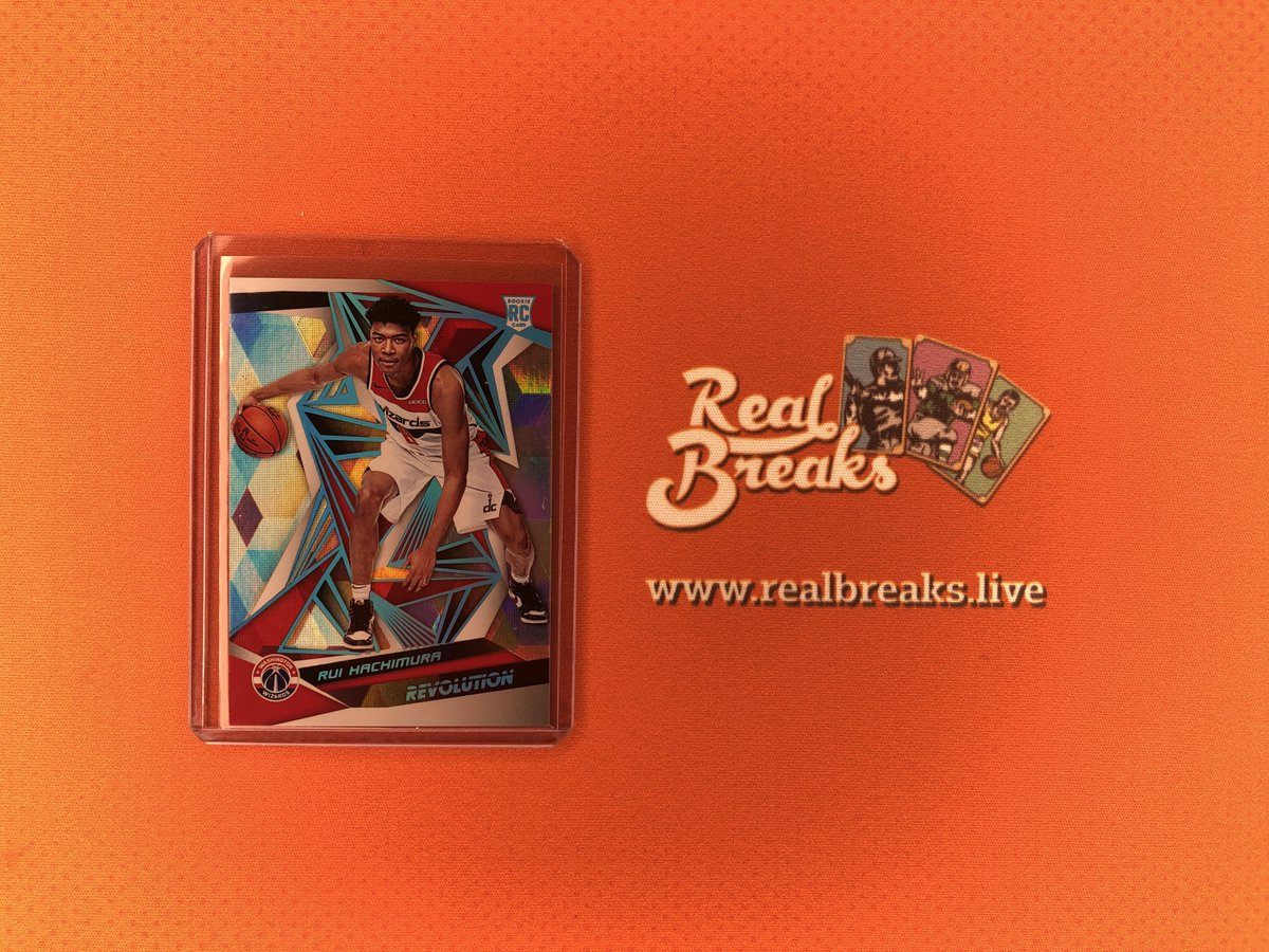 2019/20 Panini Revolution Rui Hachimura Cubic Parallel /50 . . . @PaniniAmerica #realbreaks #boompoodle #showyourhits #whodoyoucollect #topps #panini #paninirevolution #revolutionbasketball #casebreak #groupbreak #nba #basketball #rookie #rookiecard #ruihachimura #wizardspic.twitter.com/b8sBtNluoZ