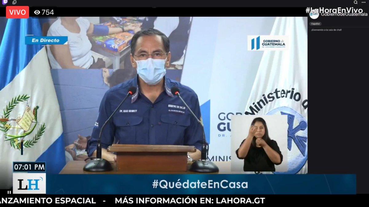test Twitter Media - #AHORA El ministro de salud Hugo Monroy, detalla que hoy se reportan 132 casos nuevos y 12 personas fallecidas por COVID-19. https://t.co/bdA4or5waT