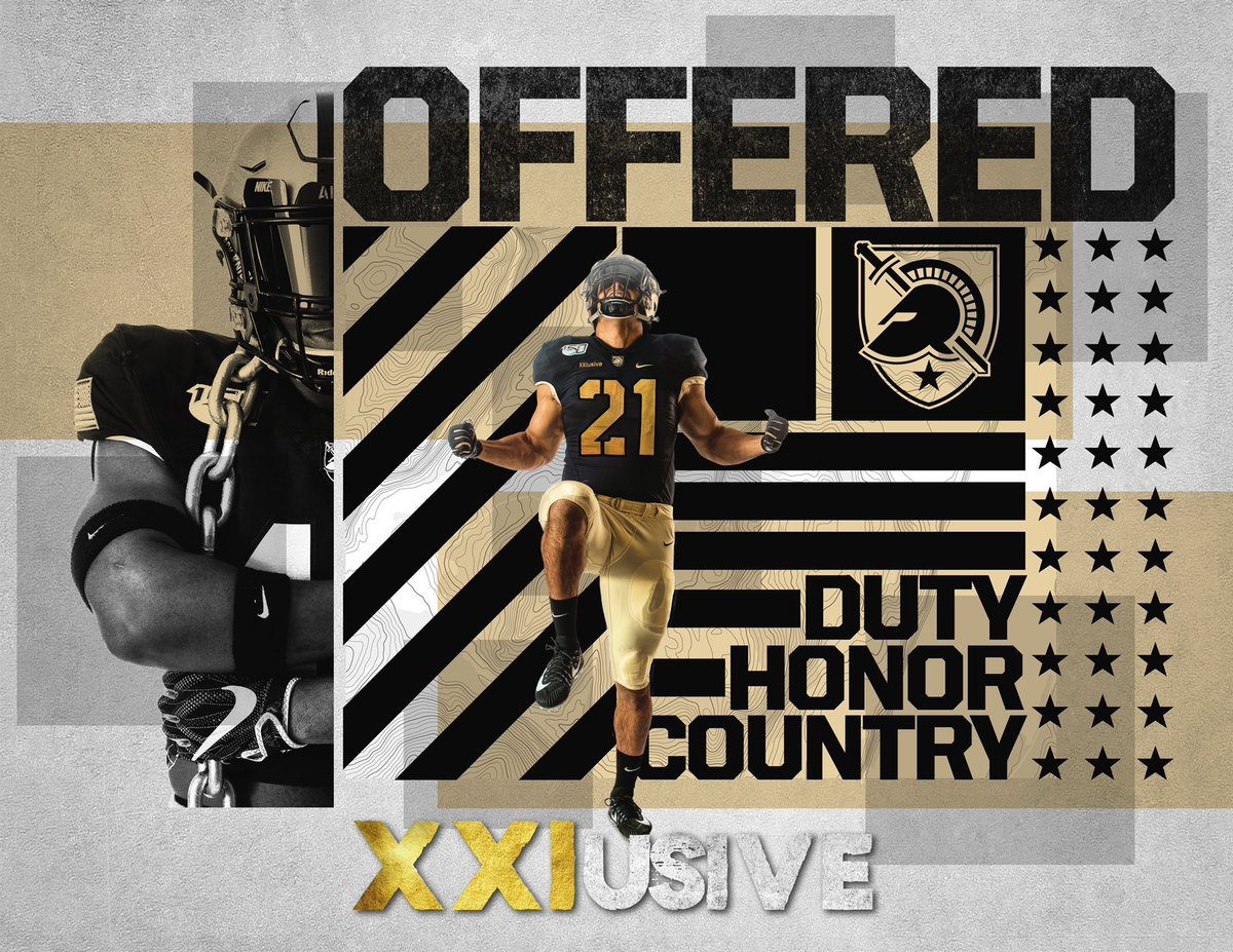 Blessed offer from Army‼️⚫️ #beatnavy @coachbrentdavis @TouchdownMOCO